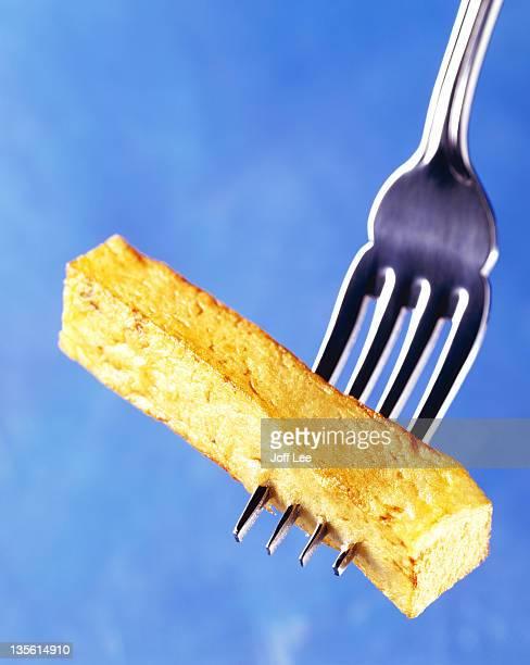 Single chip on fork