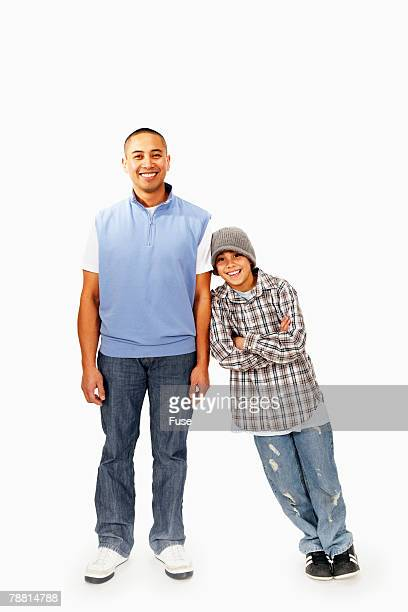 single dad - nephew stock pictures, royalty-free photos & images