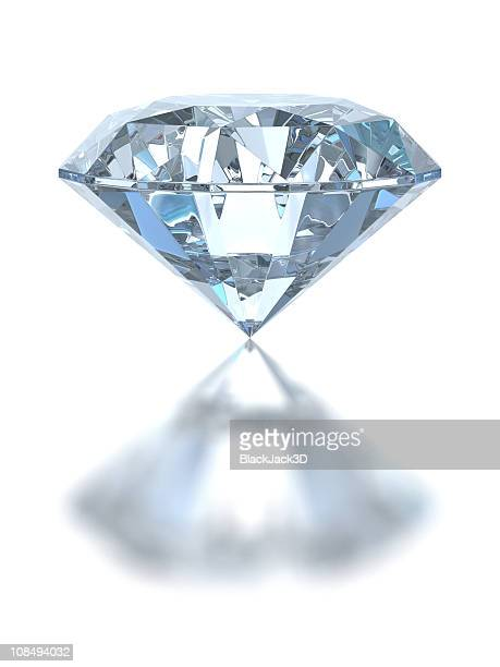 single diamond - diamond stock pictures, royalty-free photos & images