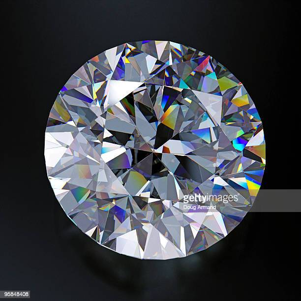 single diamond - diamond gemstone stock pictures, royalty-free photos & images