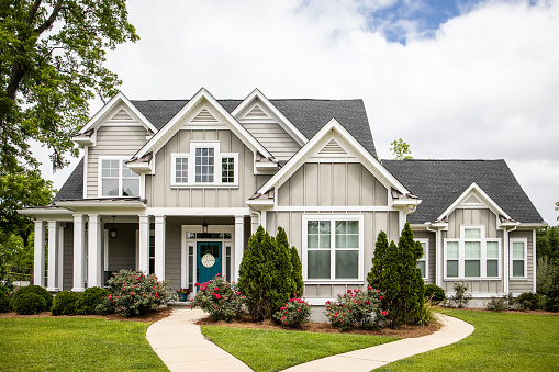 Single Family New Construction Home in Suburb Neighborhood in the South 1147674294