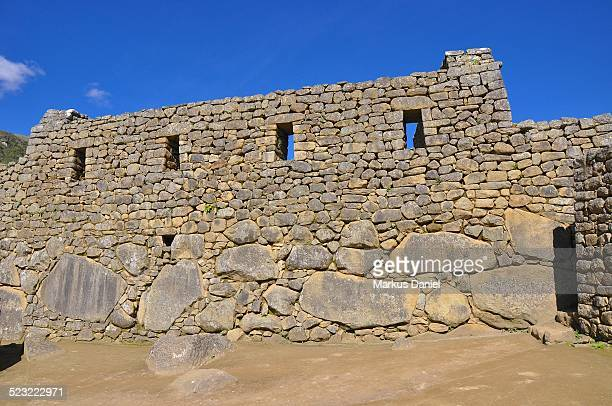 "single house inca ruin in machu picchu - ""markus daniel"" stock pictures, royalty-free photos & images"
