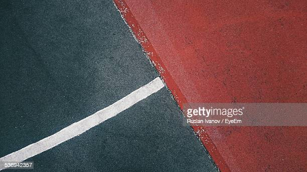Single Line On Road