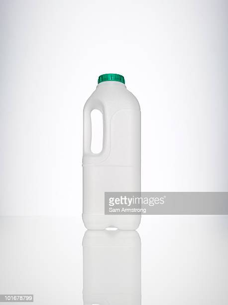 single milk bottle - milk bottle stock pictures, royalty-free photos & images