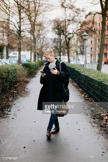Single Mother Out Walking With Baby