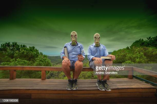 a single parent family photo in a toxic future - political party stock pictures, royalty-free photos & images