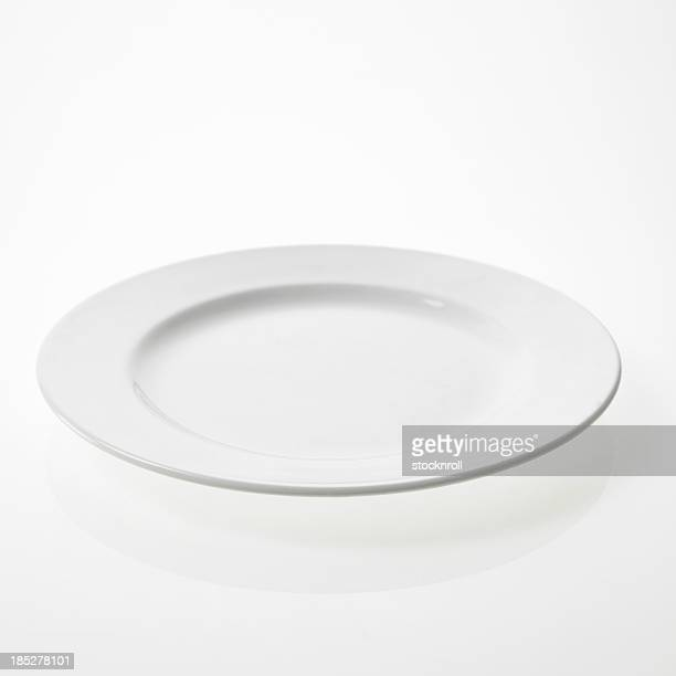 Single plate on a white bakcground.
