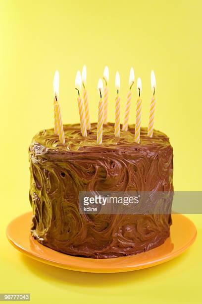 Schokoladen Geburtstagskuchen