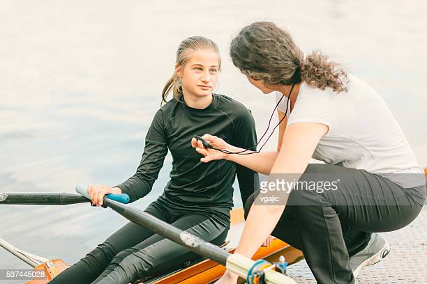 Single Scull Rowing Instructions From Coach.