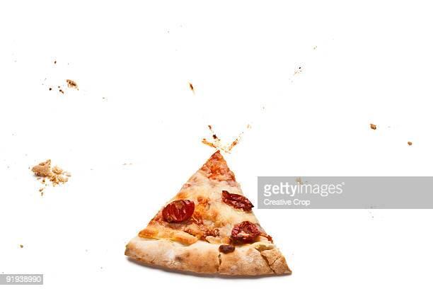 Single slice of pizza
