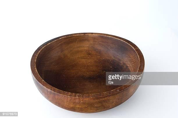 tazón de madera - cuenco madera fotografías e imágenes de stock