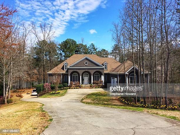 Singlefamily suburban home in Peachtree City Georgia