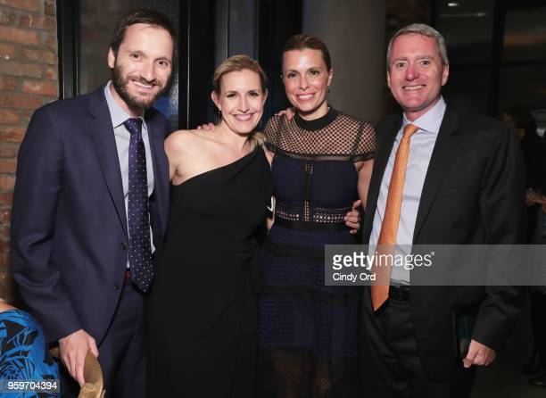 Sinisa Babcic Poppy Harlow Amy Powell Room to Read Founder John Wood attend the 2018 Room to Read New York Gala on May 17 2018 at Kimpton Hotel...