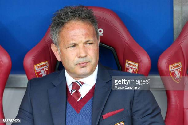 Sinisa Mihajlovic head coach of Torino FC looks on before the Serie A football match between Torino FC and Udinese Final result is 22