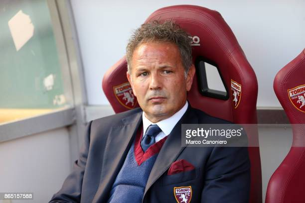 Sinisa Mihajlovic head coach of Torino FC looks on before the Serie A football match between Torino FC and As Roma As Roma wins 10 over Torino Fc