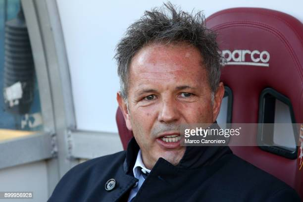 Sinisa Mihajlovic head coach of Torino FC looks on before the Serie A football match between Torino FC and Genoa Cfc