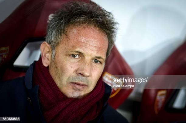 Sinisa Mihajlovic head coach of Torino FC looks on prior to the TIM Cup football match between Torino FC and Carpi FC Torino FC won 20 over Carpi FC