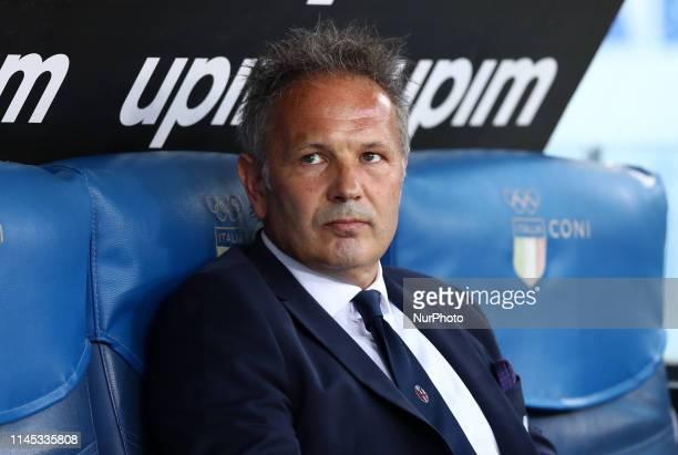 Sinisa Mihajlovic manager of Bologna during the Italian Serie A football match Lazio v Bologna at the Olimpico Stadium in Rome Italy on May 20 2019