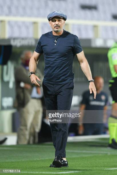 Sinisa Mihajlovic manager of Bologna FC during the Serie A match between ACF Fiorentina and Bologna FC at Stadio Artemio Franchi, Florence, Italy on...