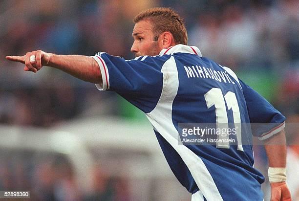 EURO 2000 Charleroi 1306 JUGOSLAWIEN SLOWENIEN 33 Sinisa MIHAJLOVIC/YUG