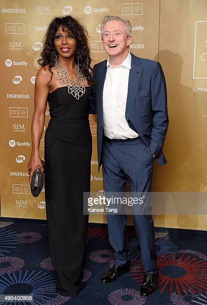 Sinitta and Louis Walsh attend the Music Industry Trusts Awards in aid of the Nordoff Robbins charity and BRIT Trust at The Grosvenor House Hotel on...