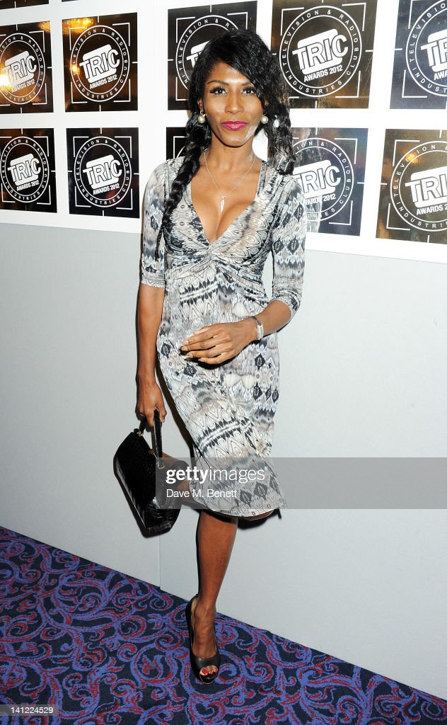 The TRIC Awards 2012 - Inside Arrivals : News Photo