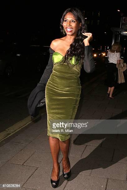 Sinitta at Annabel's club on September 26 2016 in London England