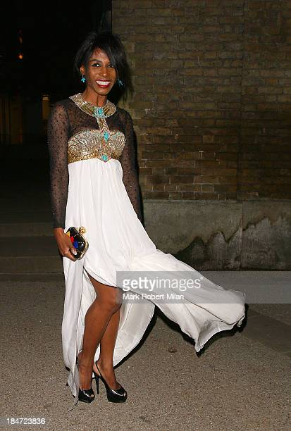 Sinitta attending the Candy Magazine autumn/winter 2013 Launch Party on October 15 2013 in London England