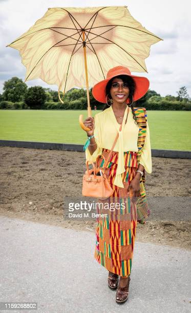 Sinitta attends at the Lux Afrique Polo Day at the Ham Polo Club on August 3 2019 in Richmond England
