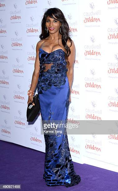Sinitta attends the Caudwell Children Butterfly Ball held at the Grosvenor House Hotel on May 15 2014 in London England