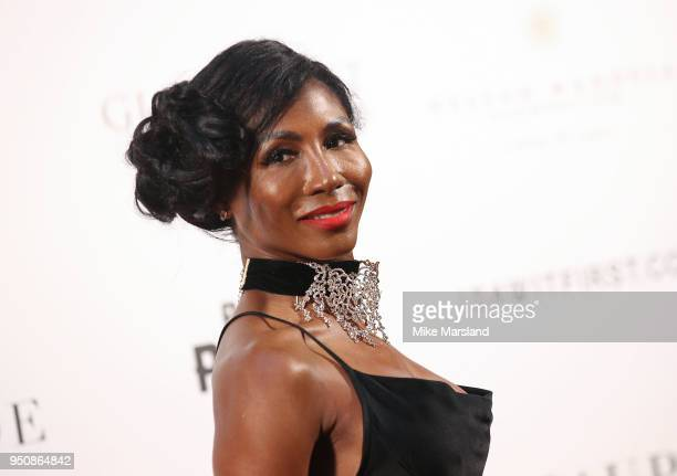 Sinitta attends The Nelson Mandela Global Gift Gala at Rosewood London on April 24 2018 in London England