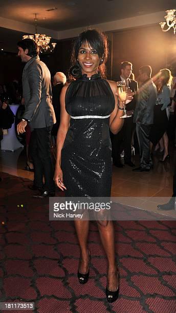Sinitta attends the Nina Naustdal Runway show following London Fashion Fashion Week SS14 at The Mayfair Hotel on September 19 2013 in London England