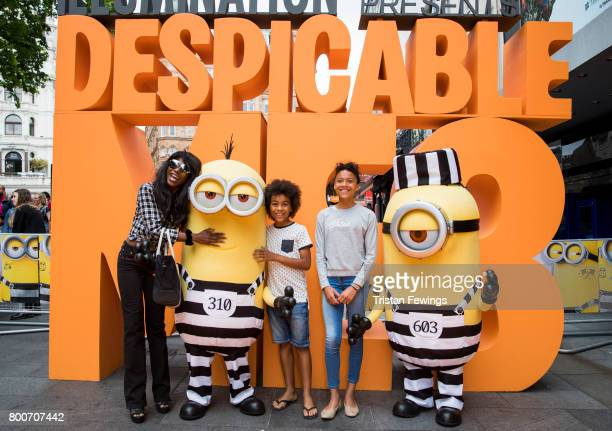 Sinitta attends the special screening of Despicable Me 3 at Odeon Leicester Square on June 25 2017 in London England