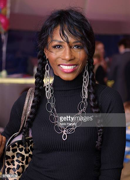 Sinitta attends the VIP Launch of 'Disney On Ice Presents Princess Wishes' on October 28 2009 in London England