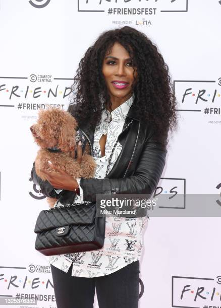 Sinitta during Comedy Central's FriendsFest: London Photocall at Clapham Common on June 24, 2021 in London, England.