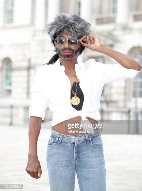 Sinitta during The X Factor 2018 launch at Somerset House on July 17 2018 in London England
