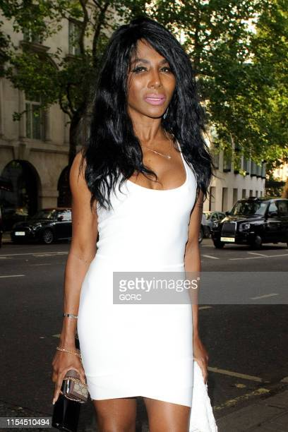 Sinitta seen arriving at the DIVA Magazine Awards at the Waldorf Hotel on June 07 2019 in London England