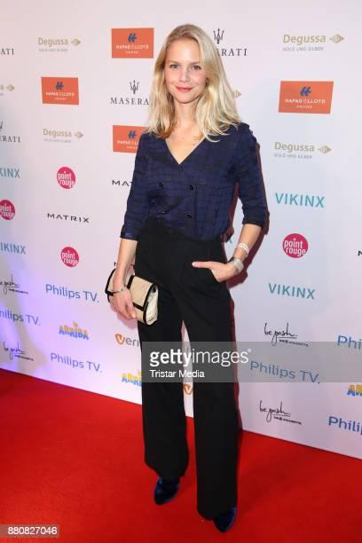 Sinja Dieks attends the Movie Meets Media event 2017 at Hotel Atlantic Kempinski on November 27 2017 in Hamburg Germany