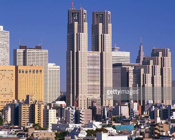 sinjuku - 東京都庁舎 ストックフォトと画像