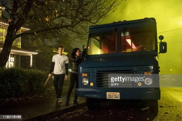 CLASS Sink With California Episode 109 Pictured Benjamin Wadsworth as Marcus Lana Condor as Saya