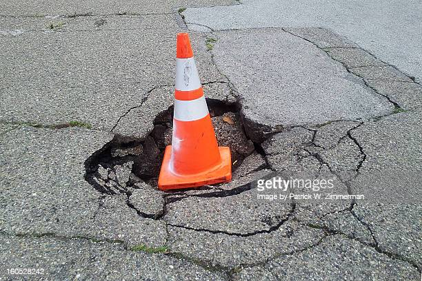 sinkhole - sinkhole stock photos and pictures