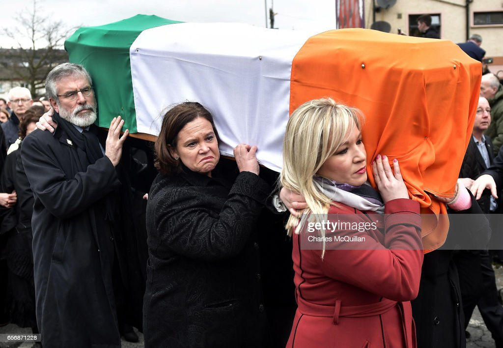 Martin McGuinness's Funeral Takes Place In Derry
