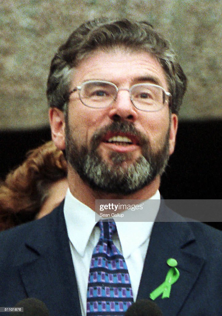 Sinn Fein Leader Gerry Adams Voices His Approval Of A Joint British