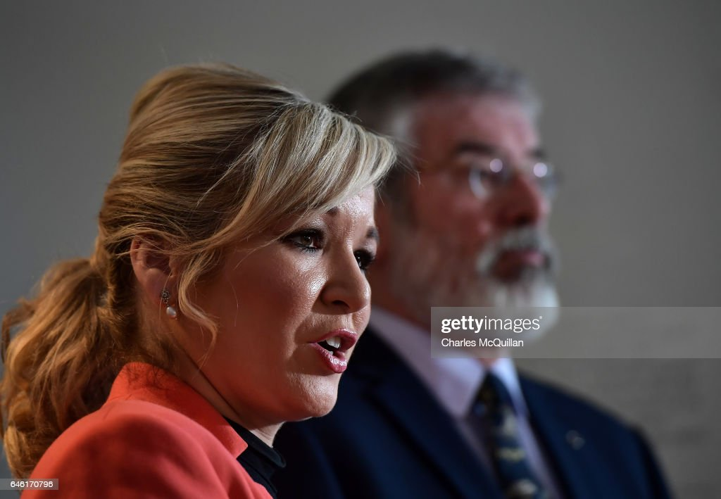 Sinn Fein Hold Election Press Conference