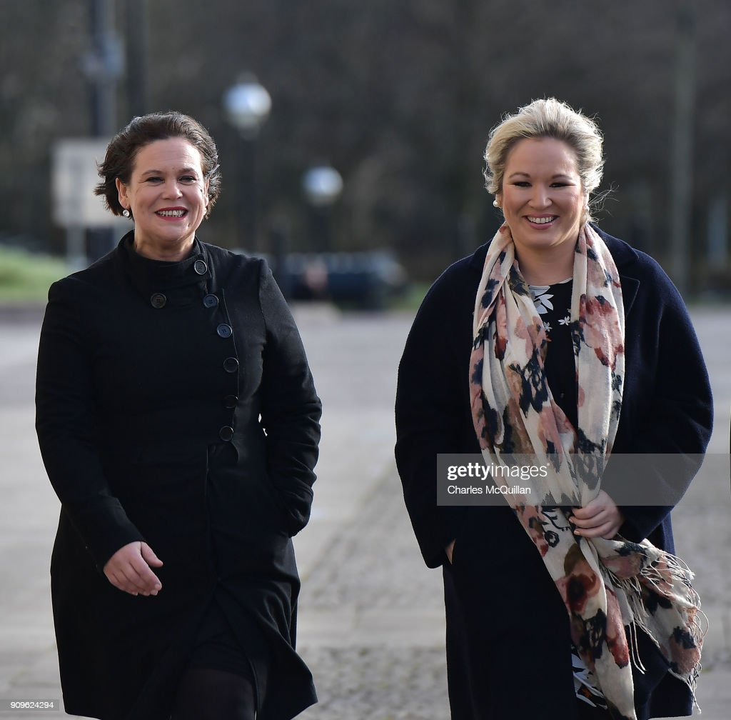 Northern Ireland Minister Hosts Fresh Power-sharing Talks
