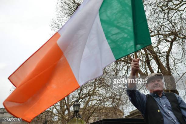 Sinn Fein recreating an iconic 1918 Election photo in front of Leinster House in Dublin on the day of the 100th Anniversary of the 1918 Irish General...
