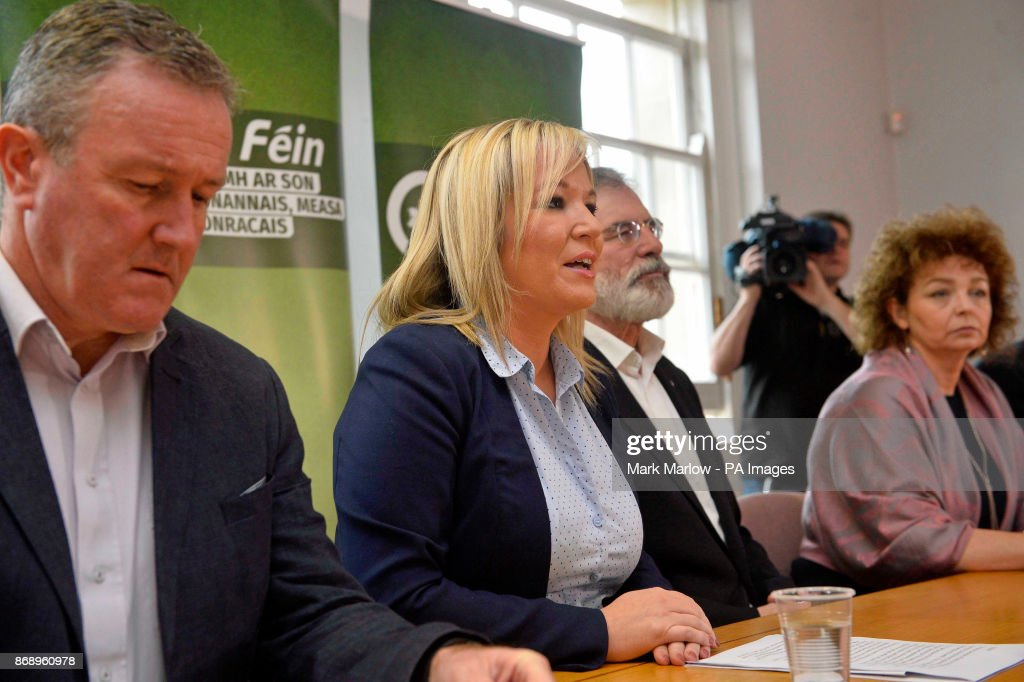 Sinn Fein S Conor Murphy Sinn Fein S Northern Ireland Leader News Photo Getty Images