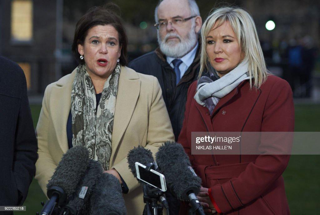 BRITAIN-NIRELAND-POLITICS : News Photo