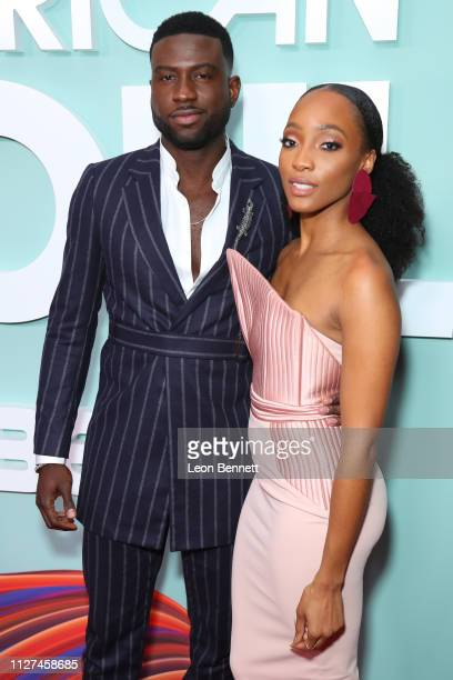 Sinqua Walls and Iantha Richardson attend BET's American Soul Los Angeles Premiere on February 04 2019 in North Hollywood California