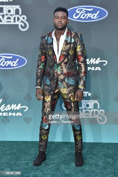 Sinqua Walls attends the Soul Train Music Awards on November 17 2019 in Las Vegas Nevada